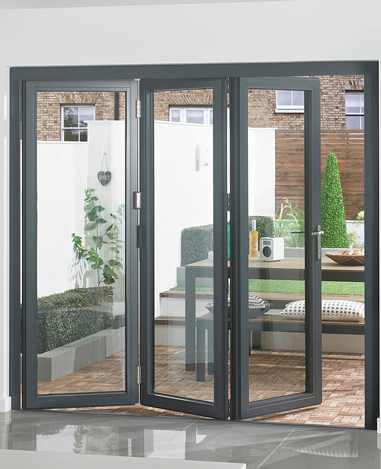 Aluminium Bi Fold Doors Surrey And Middlesex Novaglass